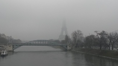 Pollution de l'air à Paris aujourd'hui